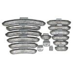 Грузики балансировочные набивные для литых дисков